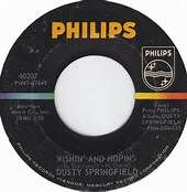 dusty springfield 45 label wishin' and hopin' - Bing Images