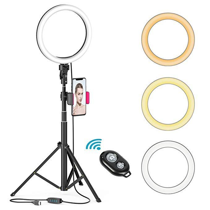 8 Led Selfie Ring Light With Tripod Stand Just Slashed In 2020 Led Selfie Ring Light Selfie Ring Light Youtube Makeup