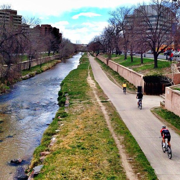 Cherry Creek Trail in Denver, CO