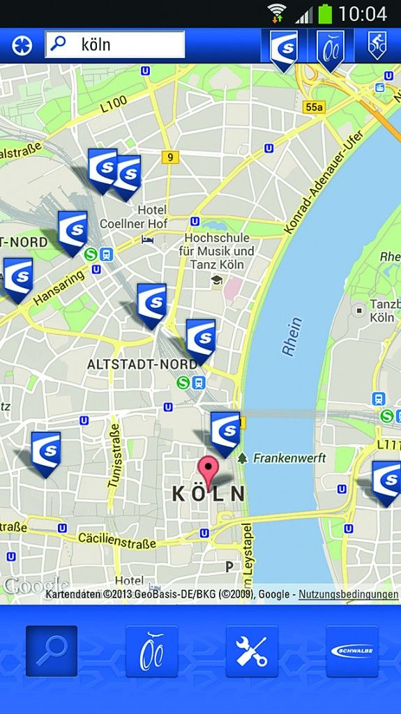 Schwalbe-App zeigt nächsten Schlauchautomaten - http://www.ebike-news.de/schwalbe-app-zeigt-naechsten-schlauchautomaten/5771