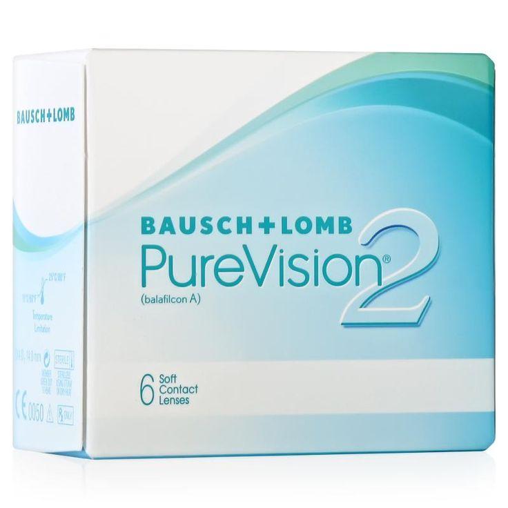 Контактные линзы Bausch+Lomb Pure Vision 2, 6 шт, R: 8.6, D: -2.5