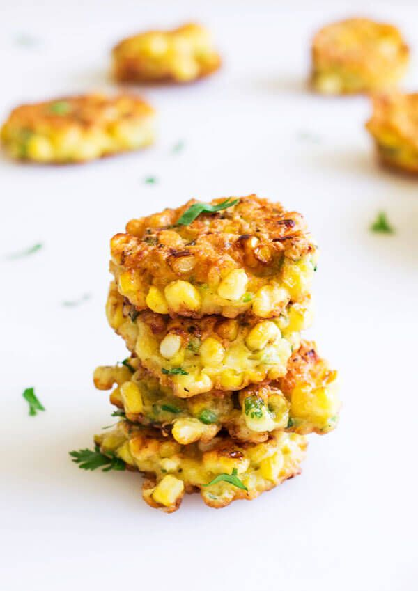 Bursting with crunchy sweet corns in every savory bite, these mini sweet corn fritters are comfort food at its best!