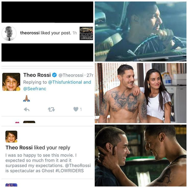 #Thisfunktional #Movie: #Thrilled and #Honored to have #TheoRossi like my #LOWRIDERS posts. LOWRIDERS in #Theaters May 12. More coverage coming soon to Thisfunktional.com (#Link in #Bio). Hoping to get to speak with Theo Rossi and the rest of the cast to be able to do a post for each one of these characters. #ThisfunktionalMovie #Movies #Film #Films #Theater #Cinema #Cinemas #Drama #Latino #Heritage #Lowrider #Cars #ComingOfAge #Juice #SOA #SAMCRO #SonsOfAnarchy http://ift.tt/1MRTm4L