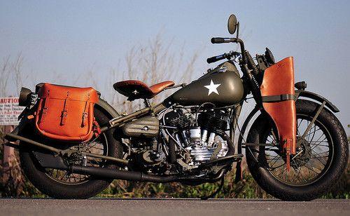 1942 Harley Davidson WLA by ZSasaki :: americabymotorcycle