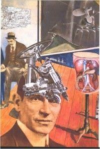 "Raoul Hausmann, ""Tatlin en caso"", 1920"