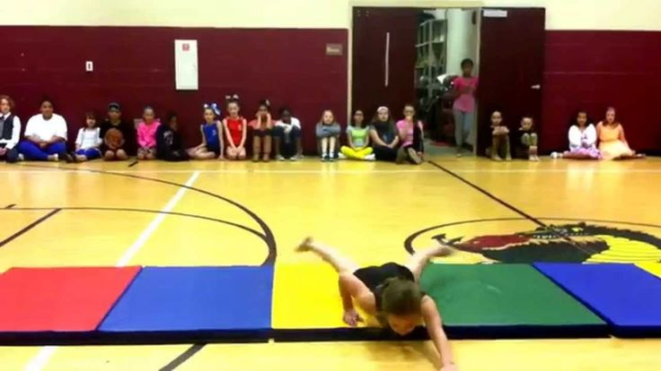 Instrumental Talk Dirty to Me Gymnastics Floor Routine for School Talent Show #JasonDerulo #talentshow #gymnastics