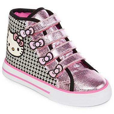a7f4d79baa24e Hello Kitty® Naomi Hi Top Toddler Girls Shoes - jcpenney