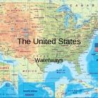 The United States Waterways PowerPoint consists of 13 colorful slides with a few sound effects.  Topics include: River and Lake Systems in the Unit...