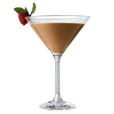 Baileys Raspberry Martini 2	 ounce(s) Baileys Original Irish Cream 1/4 ounce(s) Smirnoff Raspberry Flavored Vodka Directions  Add Baileys Original Irish Cream and Smirnoff Raspberry Flavored Vodka. Shake with ice and strain into martini glass. Garnish with raspberry.