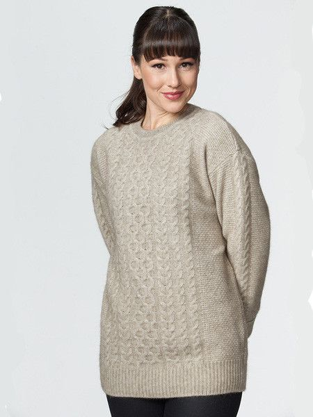 Possumdown Chunky Cable Sweater from Possumdown