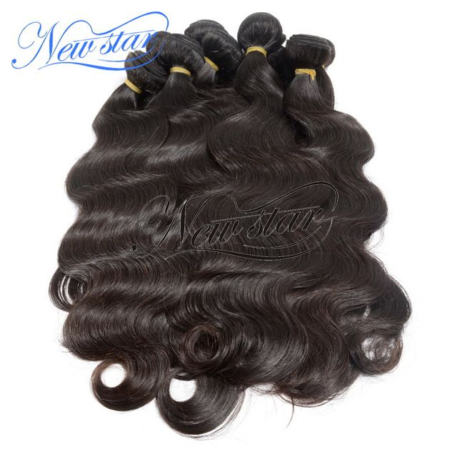 10 Bundle Malaysian Virgin Hair - New Star Malaysian body wave weave hair, length from 10 to 34 include(16,18,20,22) and color natural dark and brown. We have better body style hair than most of other hair stores online, here is the right place for no doubt. Body wave sells well and here you can get the most sexy body wave hair, they could match your hair perfectly. We highly recommend you buy 3 to 4 bundles in different length to gain a full head appearance.