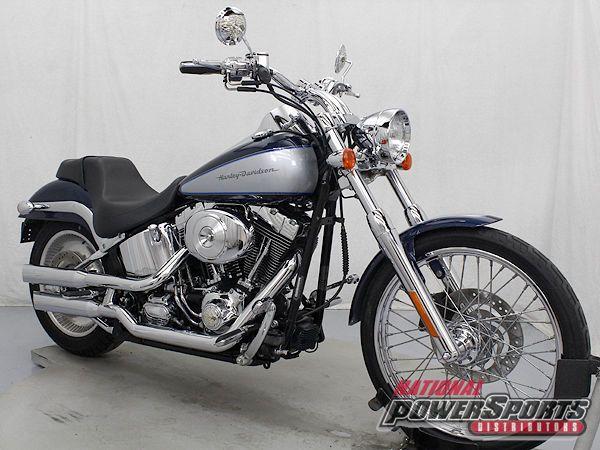 Harley-Davidson : Softail 2001 HARLEY DAVIDSON FXSTD SOFTAIL DEUCE $199 SHIPPING
