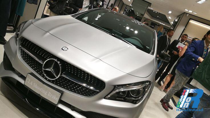 Hugo Boss e Mercedes-Benz insieme per la presentazione della nuova CLA