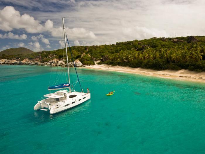 Great memories made here! Tortola in the British Virgin Islands.