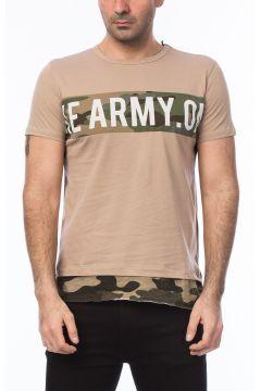 Superlife Erkek Krem Pamuk T-Shirt SPR 118 https://modasto.com/superlife/erkek-ust-giyim-t-shirt/br4901ct88