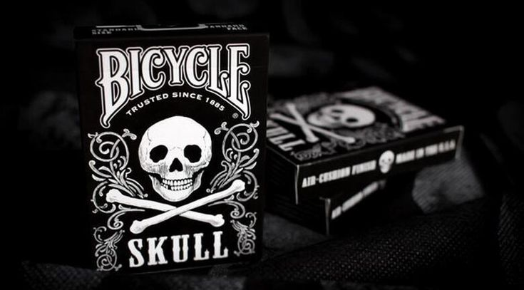 Skull Playing Cards  #skullplayingcards
