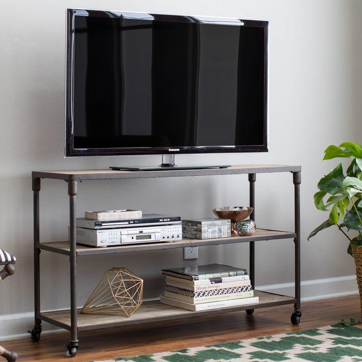 Belham Living Franklin Reclaimed Wood Industrial Coffee Table: Best 20+ Industrial Tv Stand Ideas On Pinterest