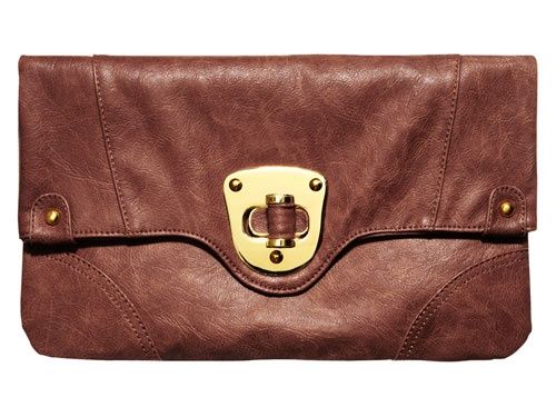 Mrs. Richie Rich wants to know where you scored that amazing bag. Clutch, $38