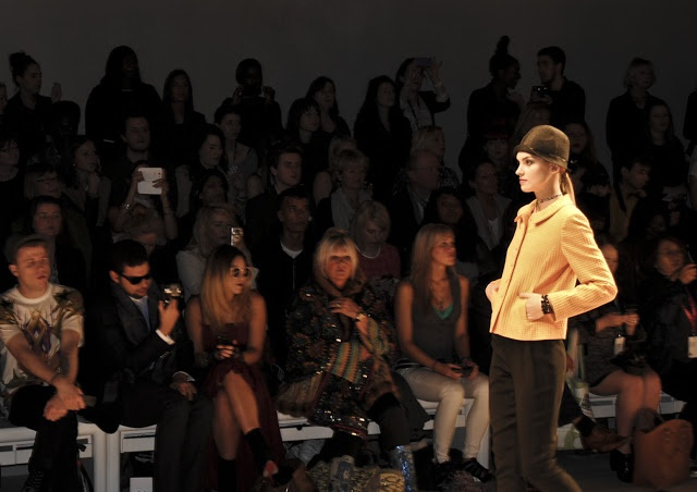 Dress Me, I'm Your Mannequin . . .: VIP at London Fashion Week - Caroline Charles - click on the link for an insider (VIP ticket) look into LFW SS13! http://dressme-imyourmannequin.blogspot.co.uk/2012/11/vip-at-london-fashion-week.html#