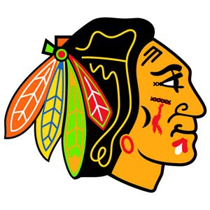 The Shaw-ified Blackhawks logo.