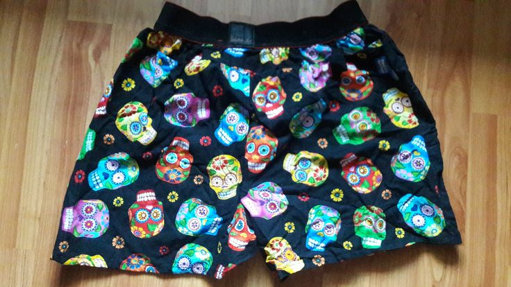 Boxers with mexican sculls