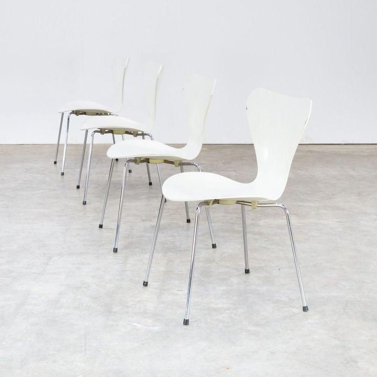 Marvelous Set Of 4 Arne Jacobsen Butterfly Chairs For Fritz Hanzen #ButterflyChair