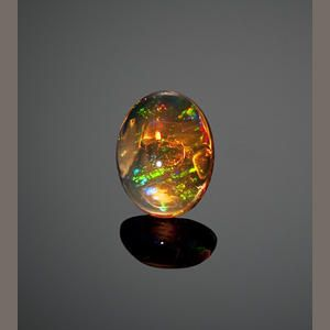 Very Fine Orange Jelly Opal