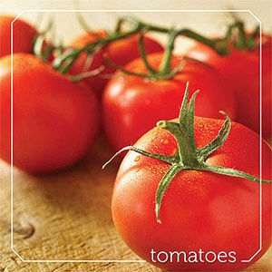 Low in calories (1 cup has only 32 calories and 7 grams of carb.), tomatoes are a superior source of vitamin C and vitamin A as well as vitamin K -- important for bone health. Other vital nutrients in tomatoes include lycopene, potassium, vitamin B6, folate, dietary fiber, manganese, magnesium, niacin, and vitamin E. As in other nutrient-rich foods, these substances work together to promote good health. Remember, pills don't grow on trees!