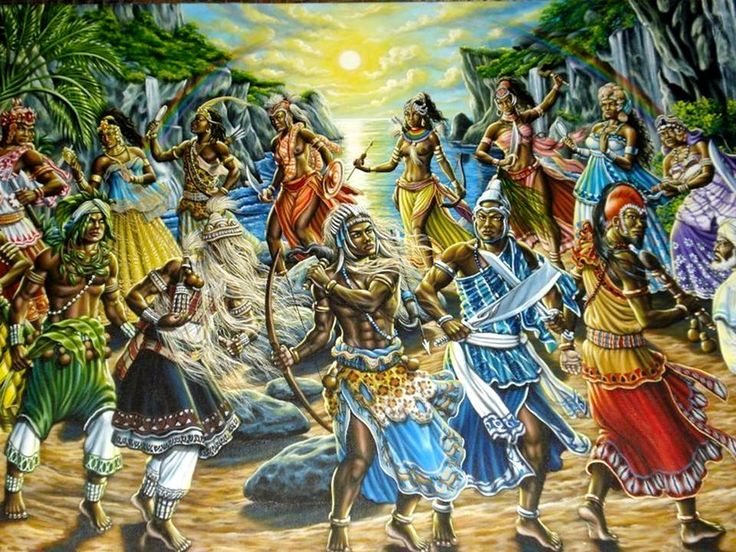 Who Are the Orishas? (En Español: http://101.myyoruba.com/quienes-son-los-orishas/?lang=es)  The Yoruba religion isn't a polytheistic religion, although the Orishas are referred as Gods sometimes, there is only one supreme deity in our religion. God has the representations as the catholic religion does. http://101.myyoruba.com/orishas/