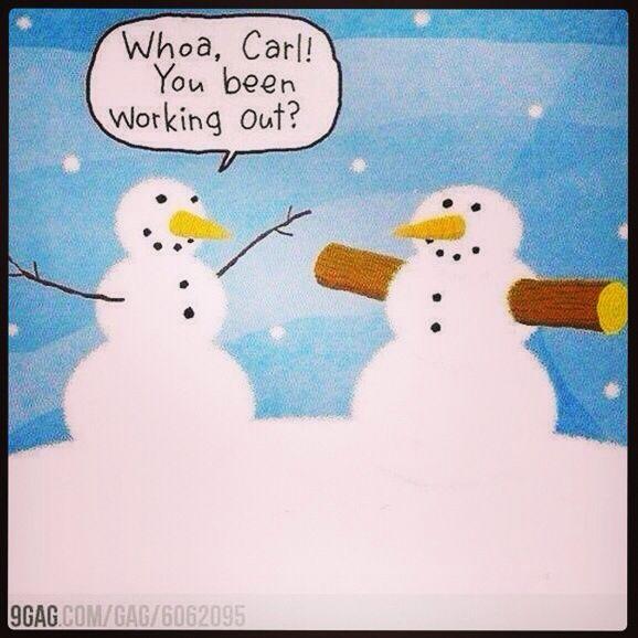 A little Christmas fitness humor...
