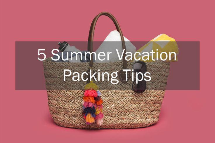5 Summer Vacation Packing Tips | eBay