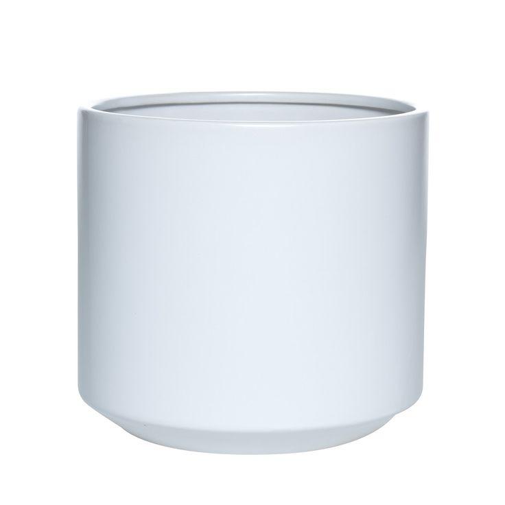 Fredrik Large Pot White