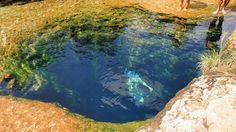 When the temperatures soar in Texas, Jacob's Well calls. But before you jump in, there's some history you should know.