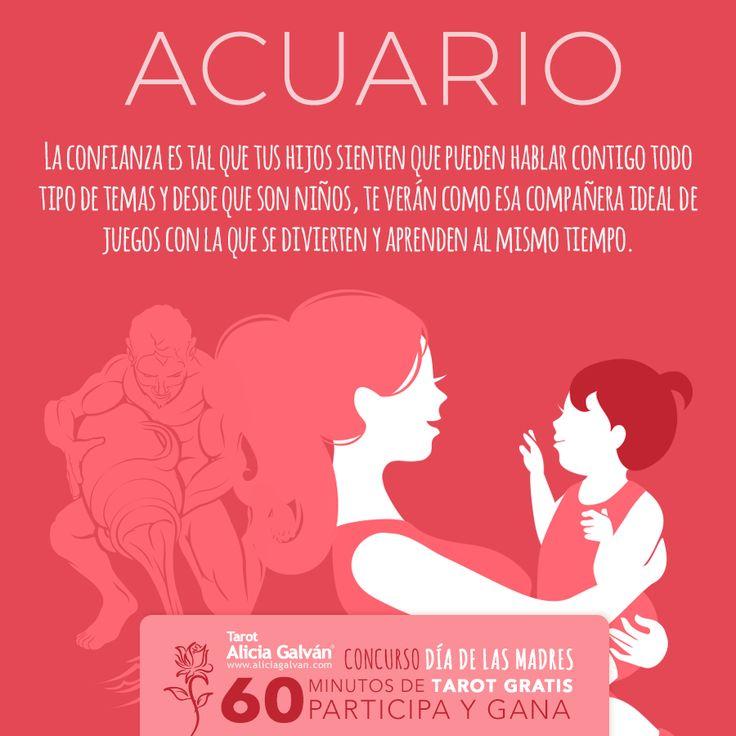 #Acuario ♒ participa en nuestro Concurso Día de las Madres si deseas ganar una consulta de #Tarot Gratis. Registrate haciendo click en la imagen.