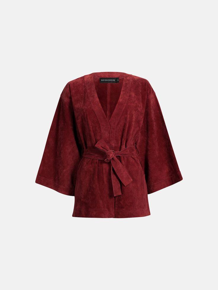 Merta kimono | 7169194 | Röd | BikBok | Sverige