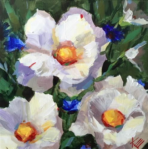 "Daily Paintworks - ""Peace"" - Original Fine Art for Sale - © Krista Eaton"