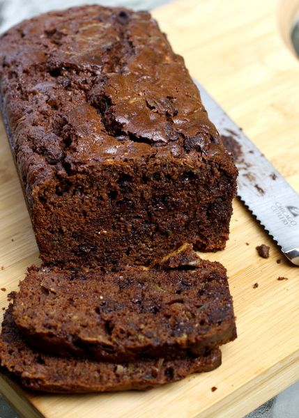 Double Chocolate Zucchini Bread | What Megan's Making I'm pinning this, since a different recipe that I pinned was removed.