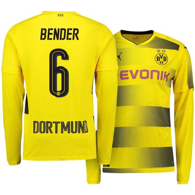 Borussia Dortmund Home Kit 17-18 LS bender