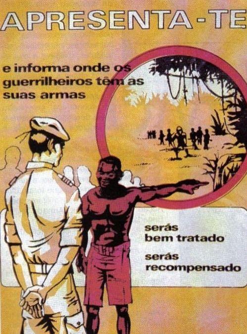 Portuguese army propaganda - African Colonial War 1961-74