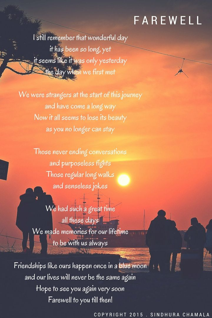 Farewell #Poem #Poetry #Farewell #College #Friends #Goodbyes