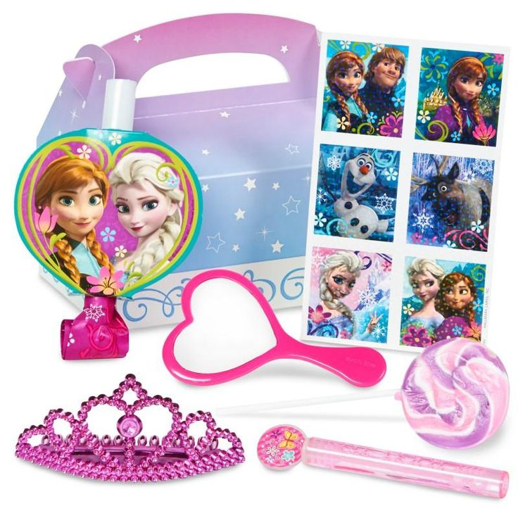 Frozen Princess Birthday Party Favor Box: every purchase through this link supports charity