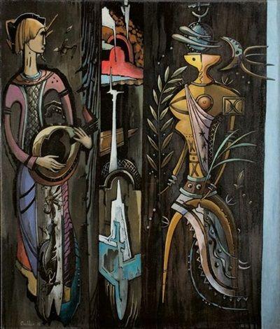 Alexis Preller (1911-1975) - Primavera