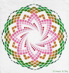 Sacred Geometry / Torus / Lotus of Heart   by Sarjana Sky