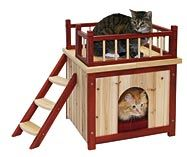171 Best CAT HOUSES & SHELTERS Images On Pinterest Outdoor