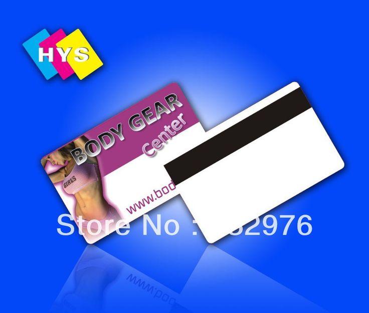 PVC impresión de tarjetas y la tarjeta inteligente y la oferta