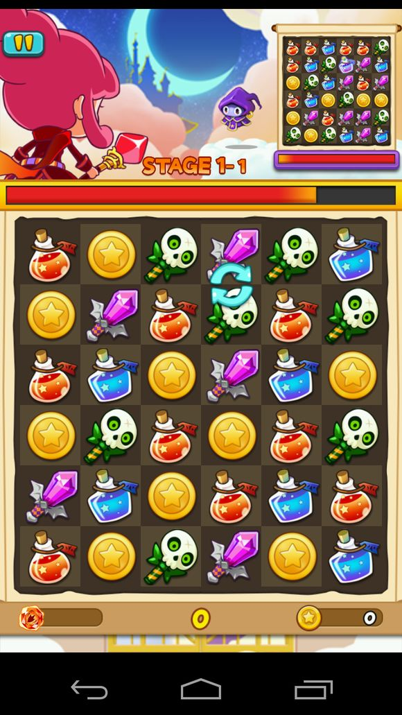 Witch Wars: Puzzle screenshot