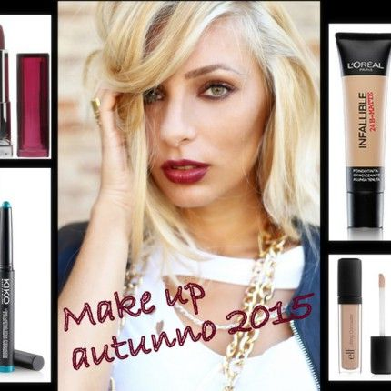 How to: makeup per l\'autunno 2015