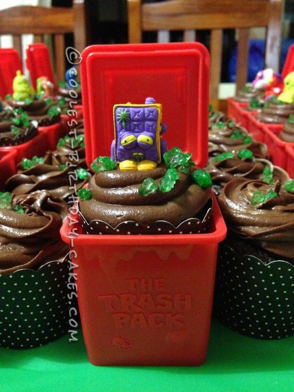 Coolest Trash Pack Cupcakes - 1