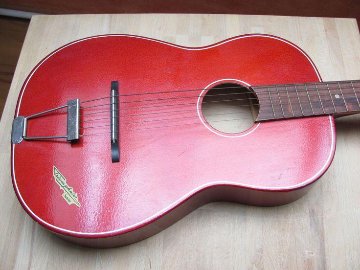 Vntage KLIRA TRIUMPHATOR JUNIOR JAZZ BLUES GITARRE guitar Germany 1950/60