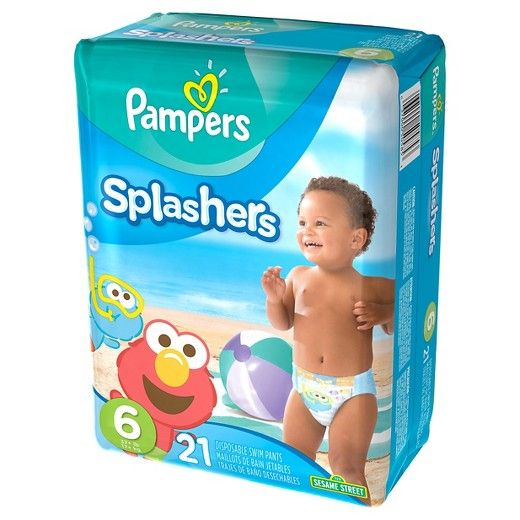Perfect for pool time or the beach!<br><br>These disposable swim diapers are absolutely perfect for pool time or when you are heading to the beach. The absorbent material won't swell up in the water like regular diapers, and the double leg cuffs provide protection against leaks. With our fun Sesame Street designs, your little baby can splash happy without you always having to worry about a soggy diaper. Their tear-away sides make it easy for you to change them, and they are su...